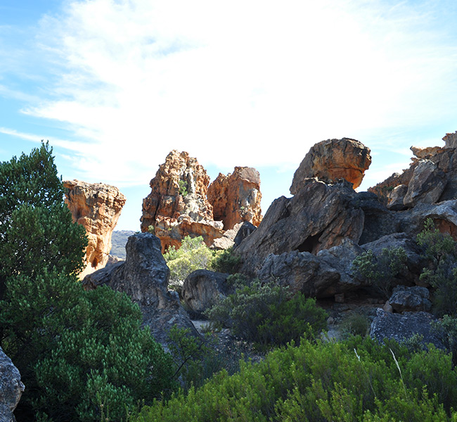 hiking with daytrippers to cederberg mountains