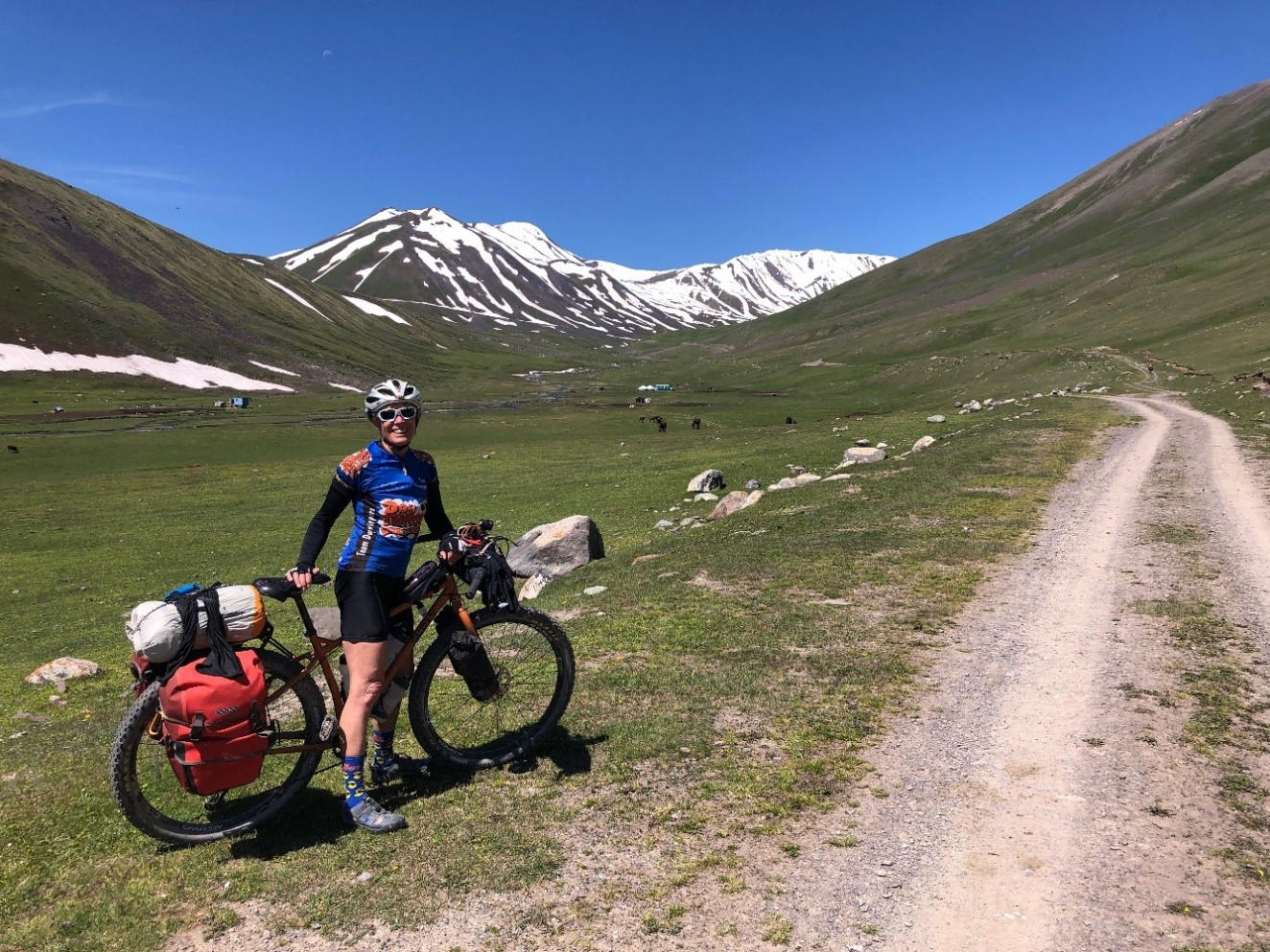 heading towards Karakol Pass